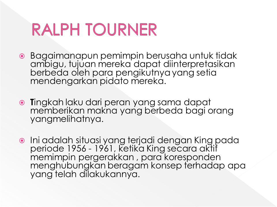 RALPH TOURNER