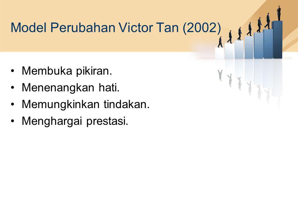 Model Perubahan Victor Tan (2002)