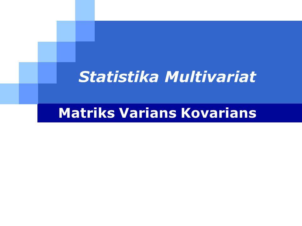 Statistika Multivariat