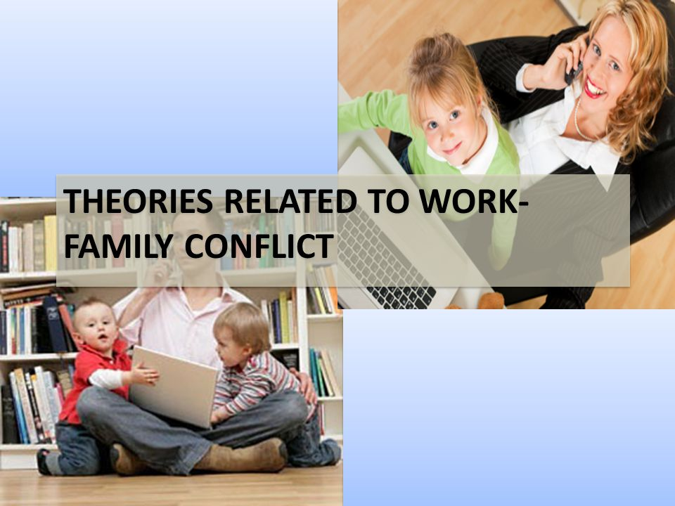 THEORIES RELATED TO WORK-FAMILY CONFLICT