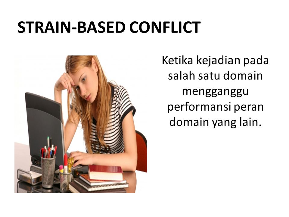 STRAIN-BASED CONFLICT