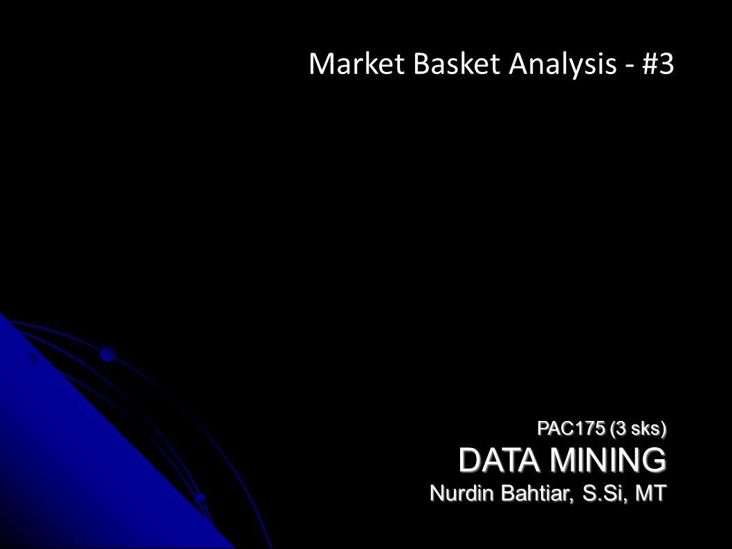 Market Basket Analysis - #3