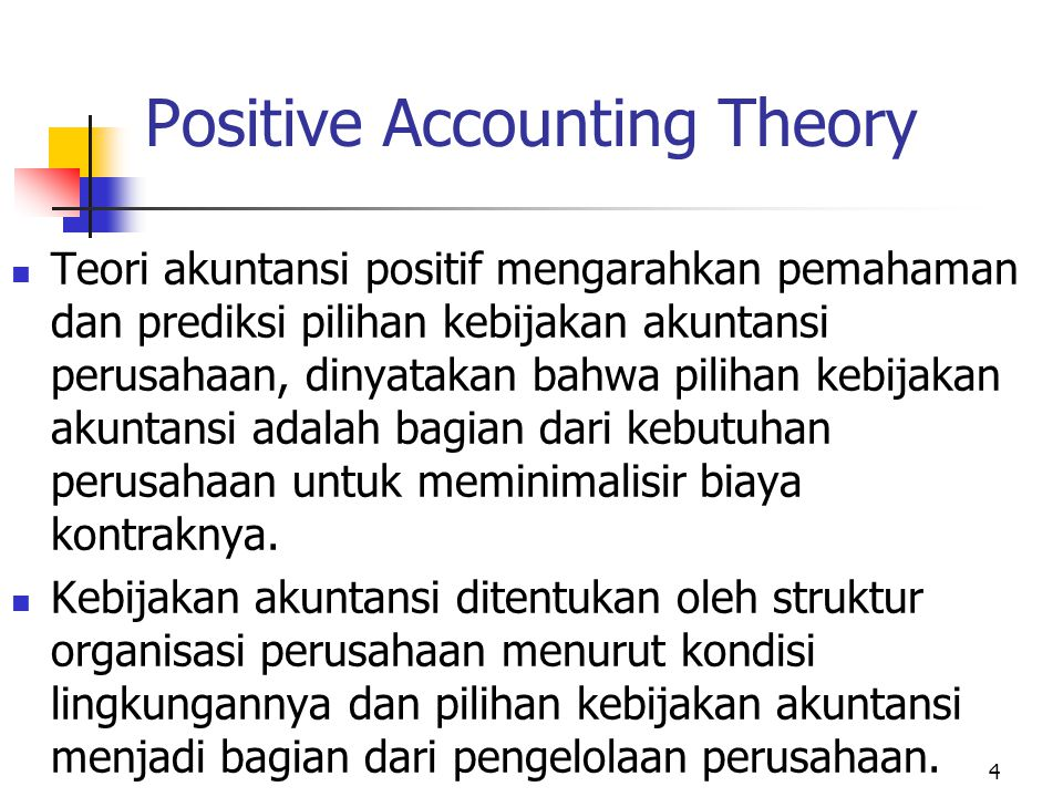 positive agency theory