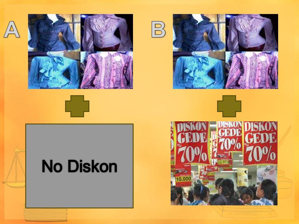 A B No Diskon