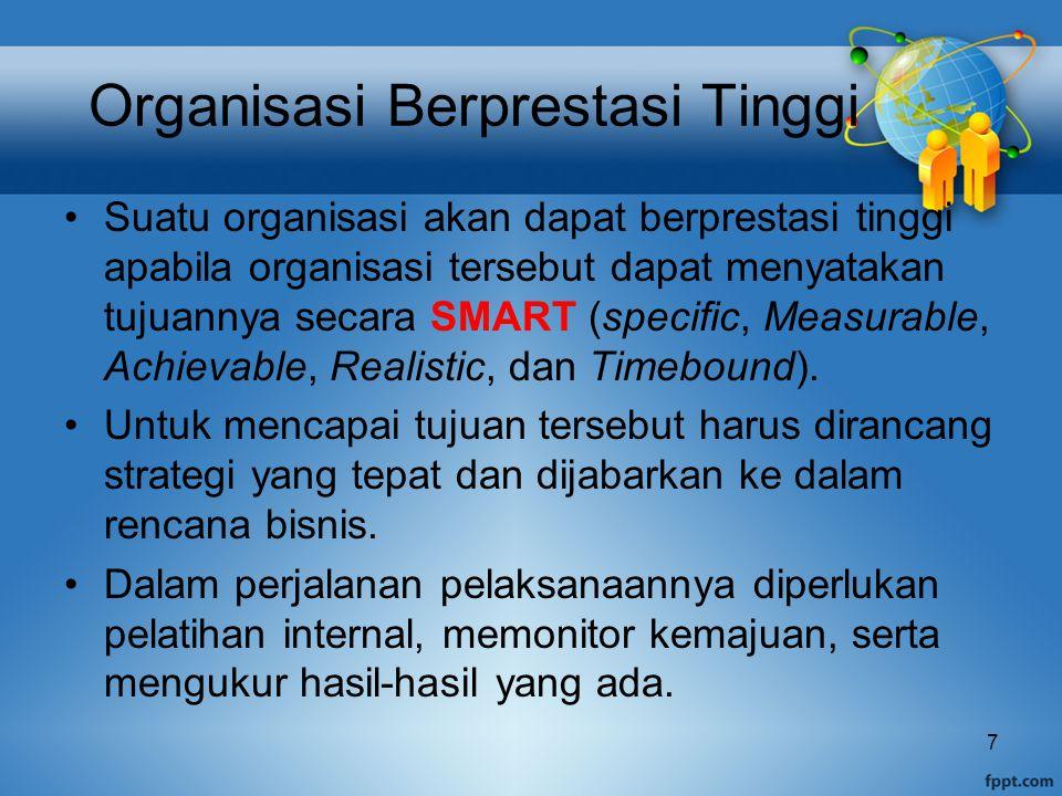 Organisasi Berprestasi Tinggi