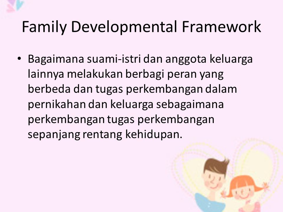 Family Developmental Framework