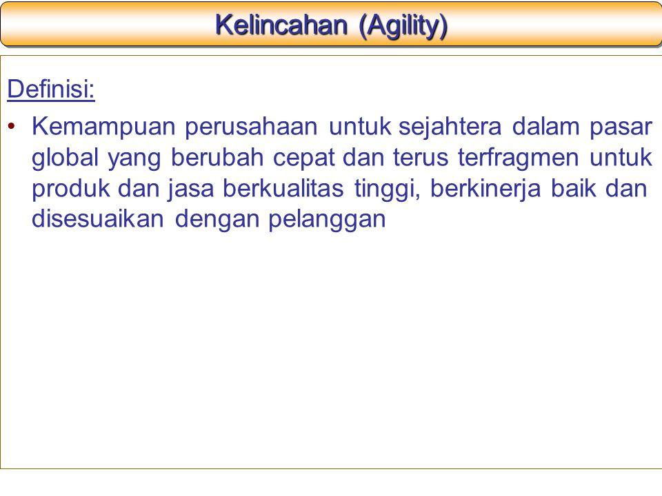 Kelincahan (Agility) Definisi:
