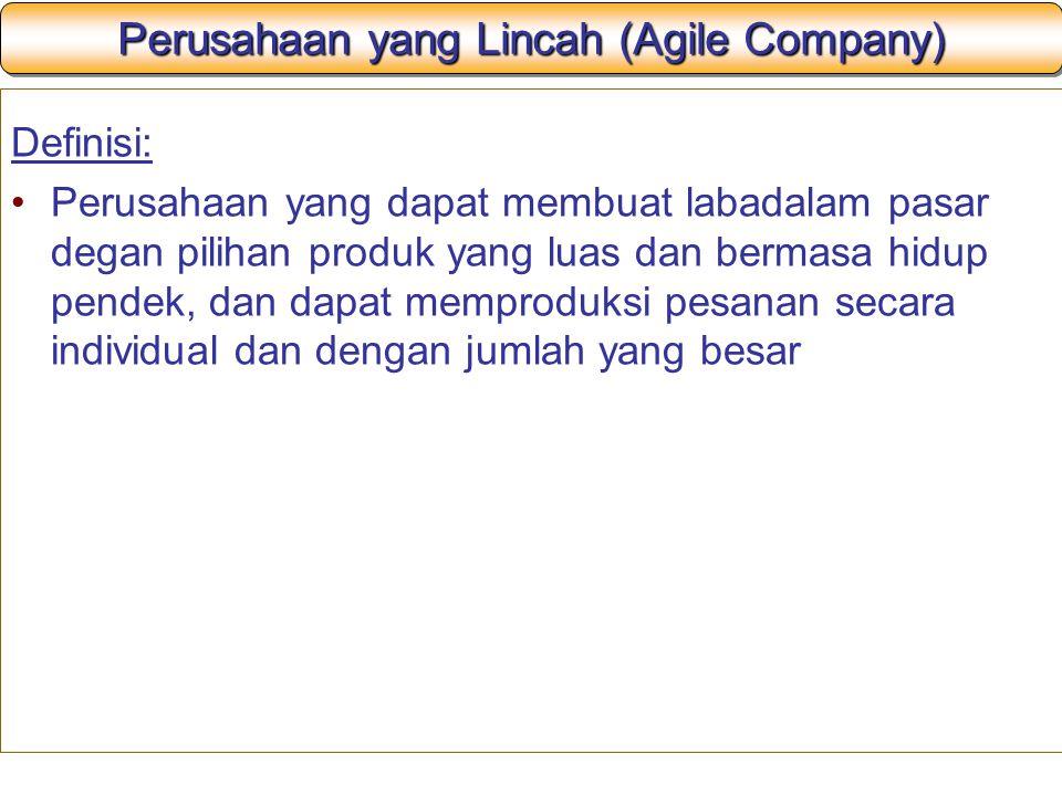 Perusahaan yang Lincah (Agile Company)