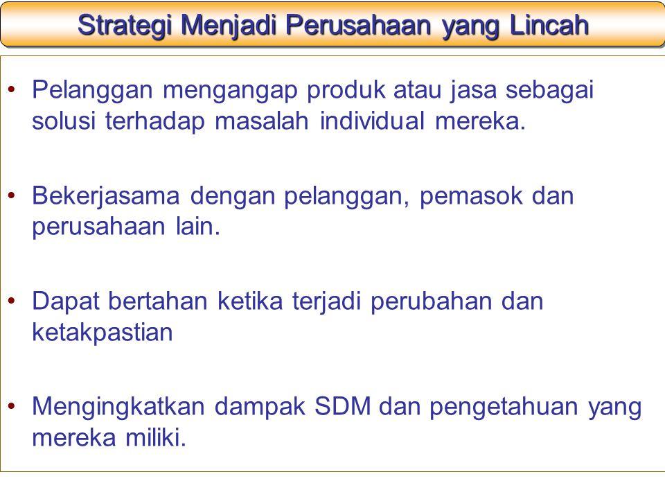 Strategi Menjadi Perusahaan yang Lincah