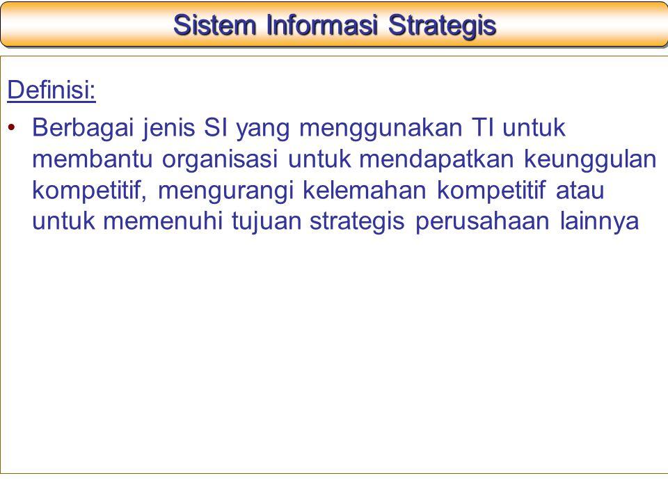 Sistem Informasi Strategis