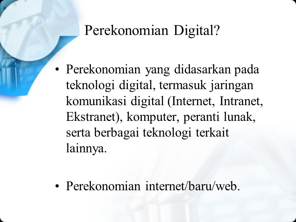 Perekonomian Digital