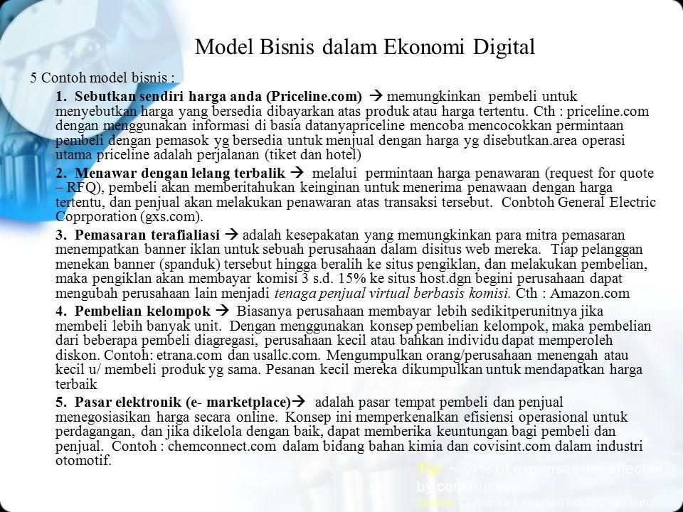 Model Bisnis dalam Ekonomi Digital