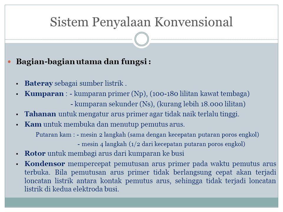 Sistem Penyalaan Konvensional