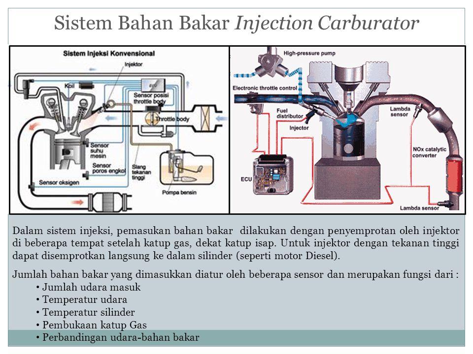 Sistem Bahan Bakar Injection Carburator