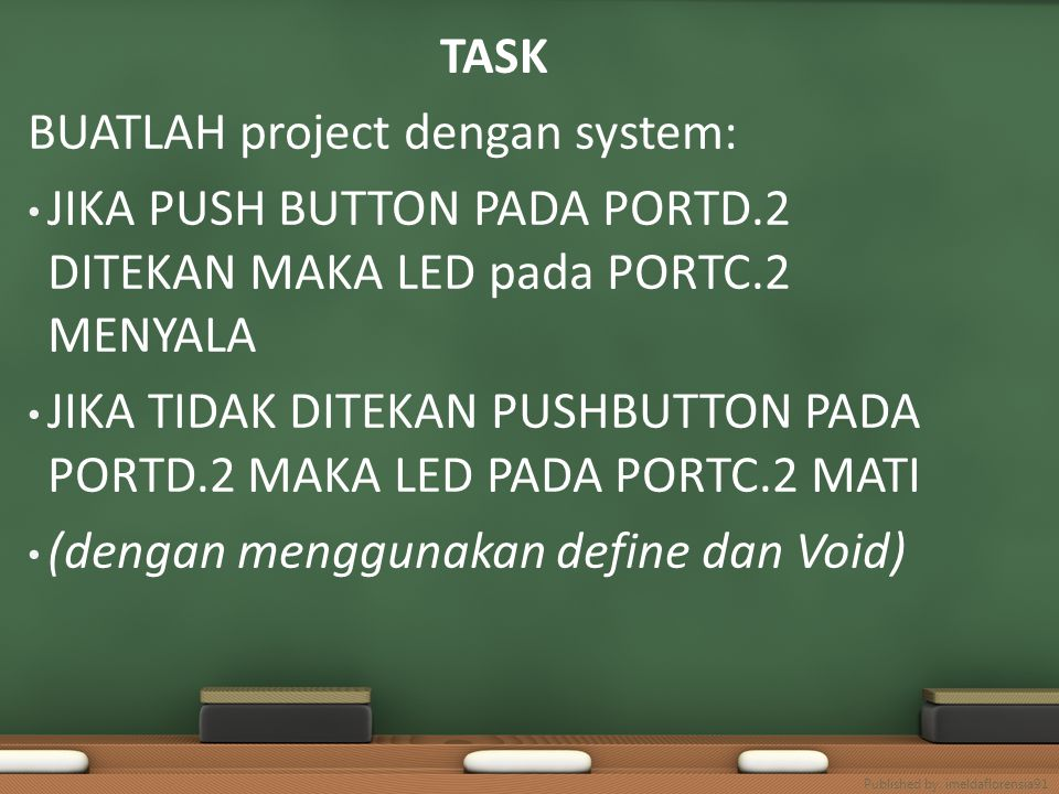 BUATLAH project dengan system: