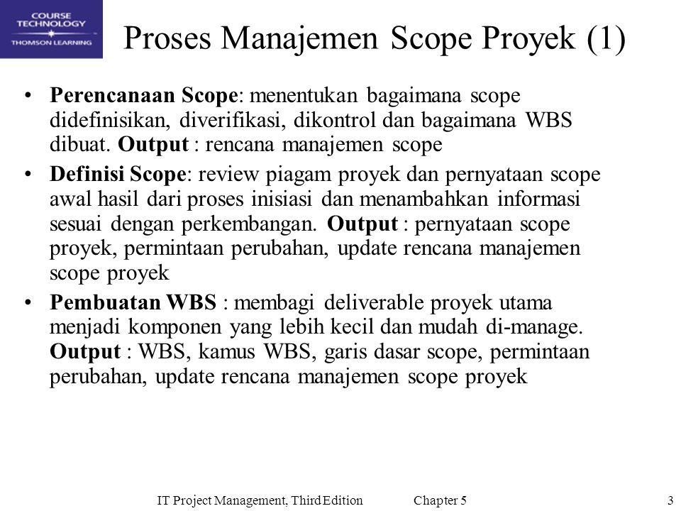 Proses Manajemen Scope Proyek (1)