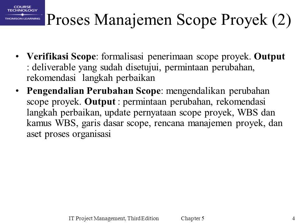 Proses Manajemen Scope Proyek (2)