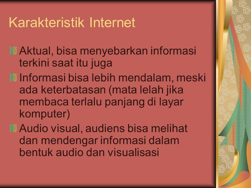 Karakteristik Internet