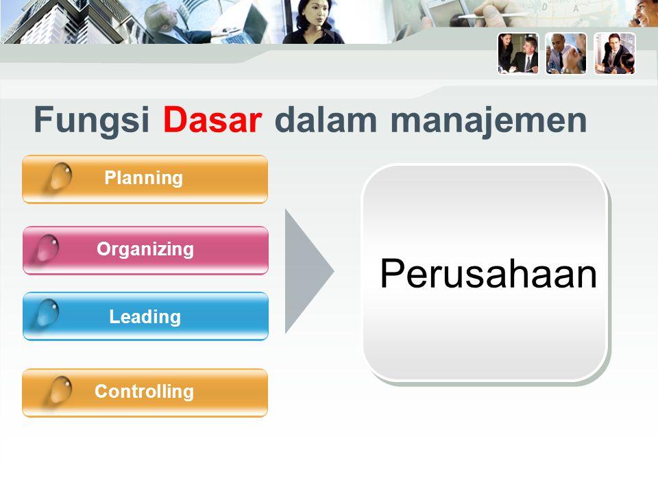 Fungsi Dasar dalam manajemen