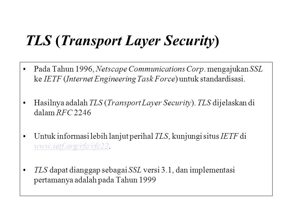 TLS (Transport Layer Security)