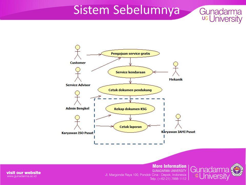 Sistem Sebelumnya