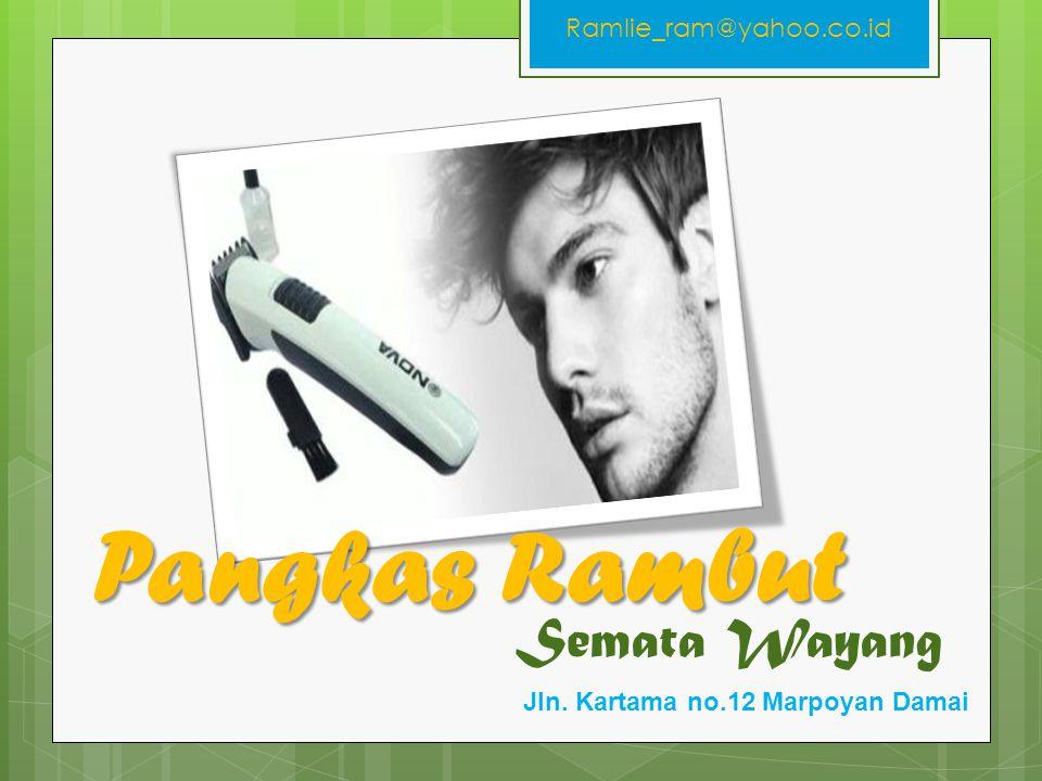 Pangkas Rambut Semata Wayang Ramlie_ram@yahoo.co.id
