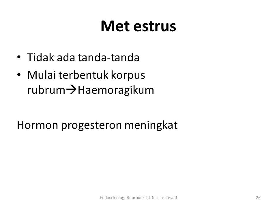 Endocrinologi Reproduksi,Trinil susilawati