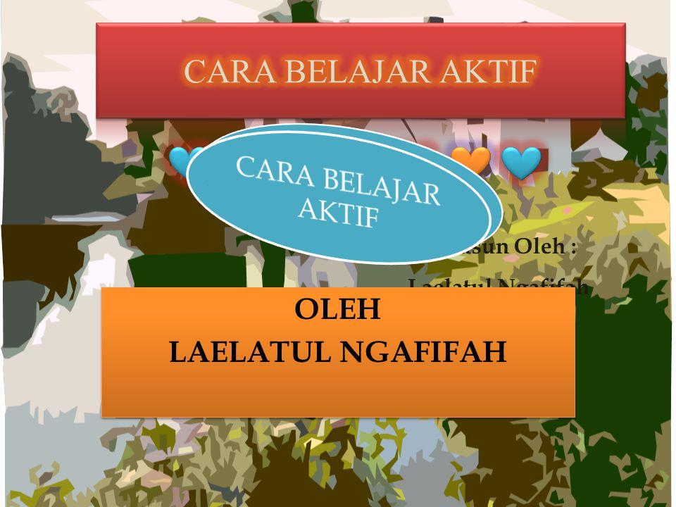 OLEH LAELATUL NGAFIFAH