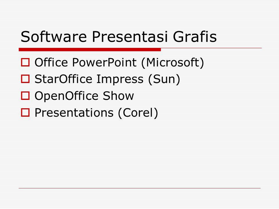 Software Presentasi Grafis