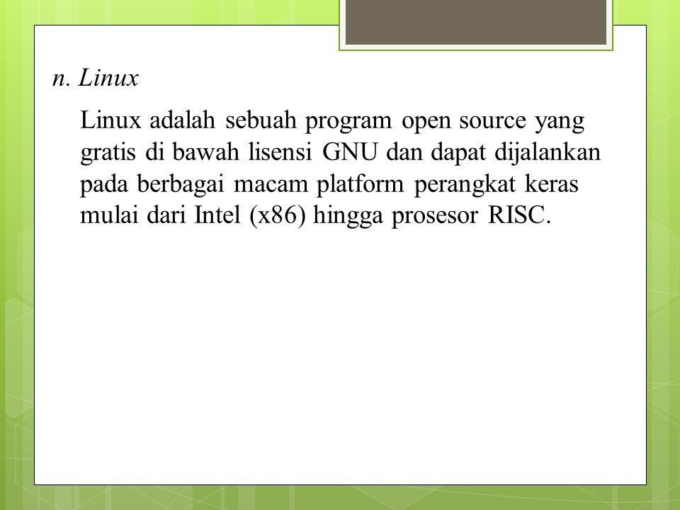 n. Linux