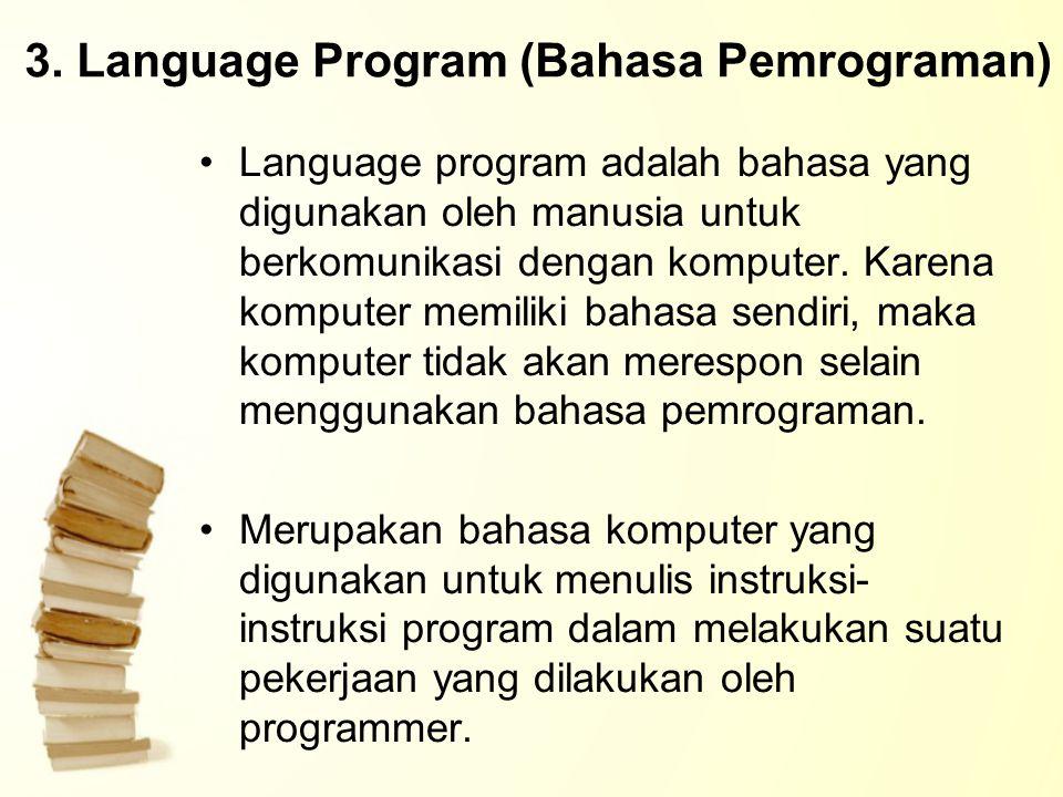 3. Language Program (Bahasa Pemrograman)