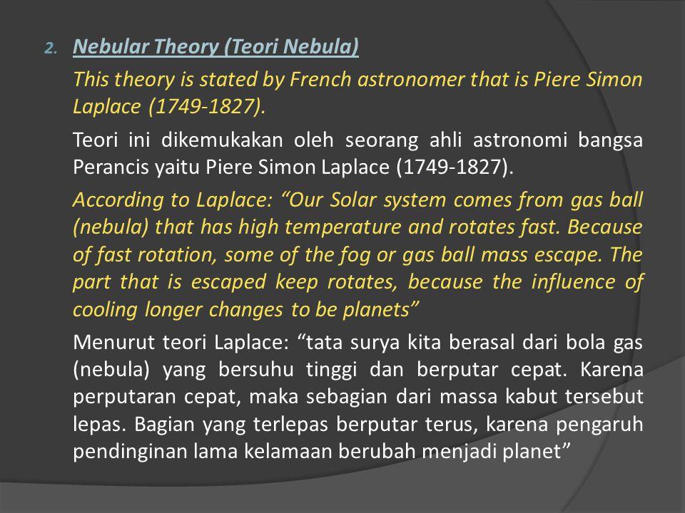 Nebular Theory (Teori Nebula)