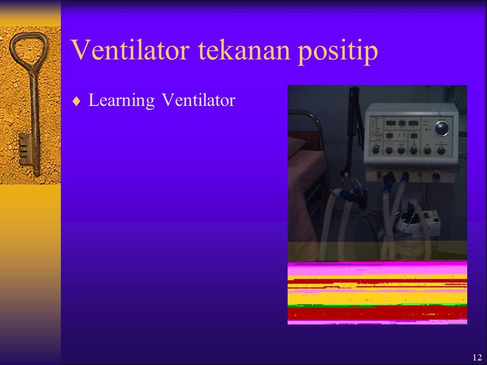 Ventilator tekanan positip