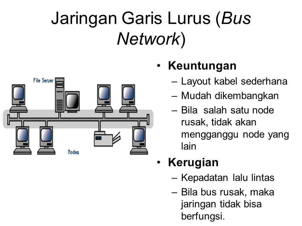 Jaringan Garis Lurus (Bus Network)