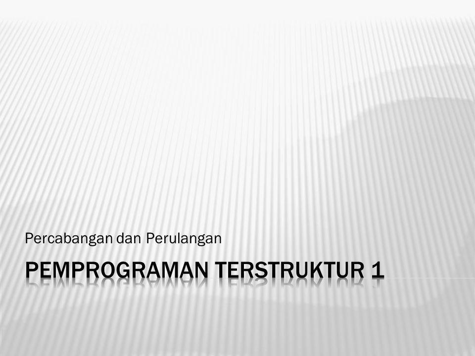 Pemprograman Terstruktur 1
