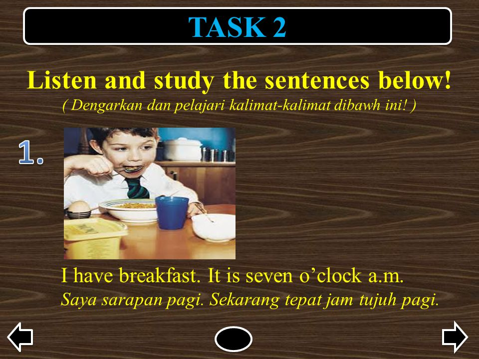 Listen and study the sentences below!