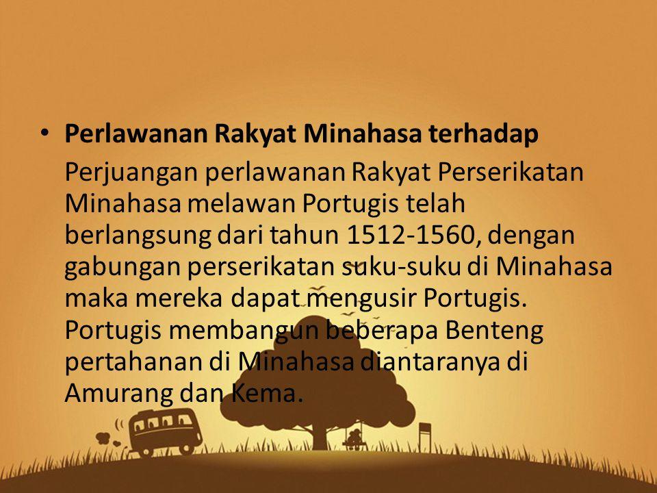 Perlawanan Rakyat Minahasa terhadap