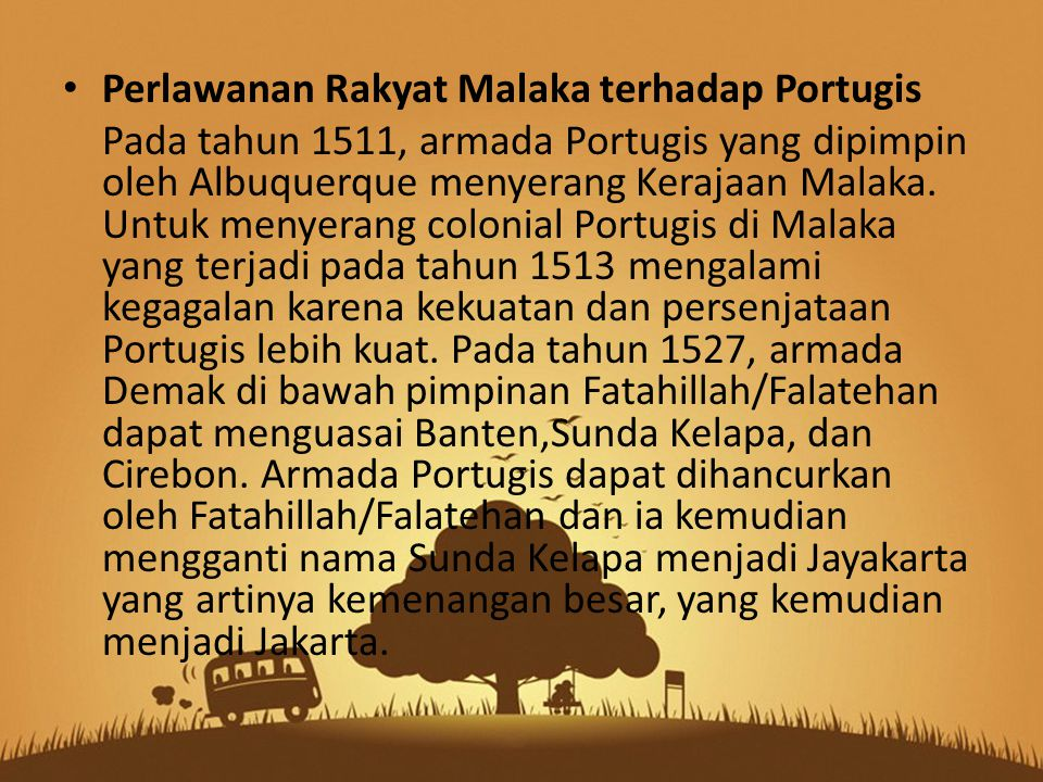 Perlawanan Rakyat Malaka terhadap Portugis