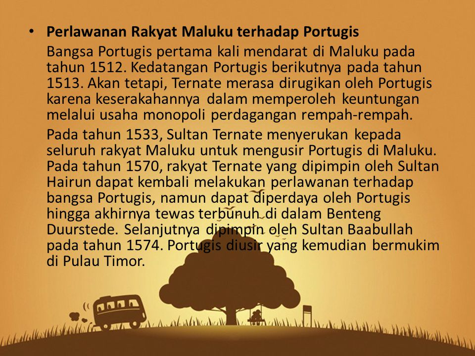 Perlawanan Rakyat Maluku terhadap Portugis
