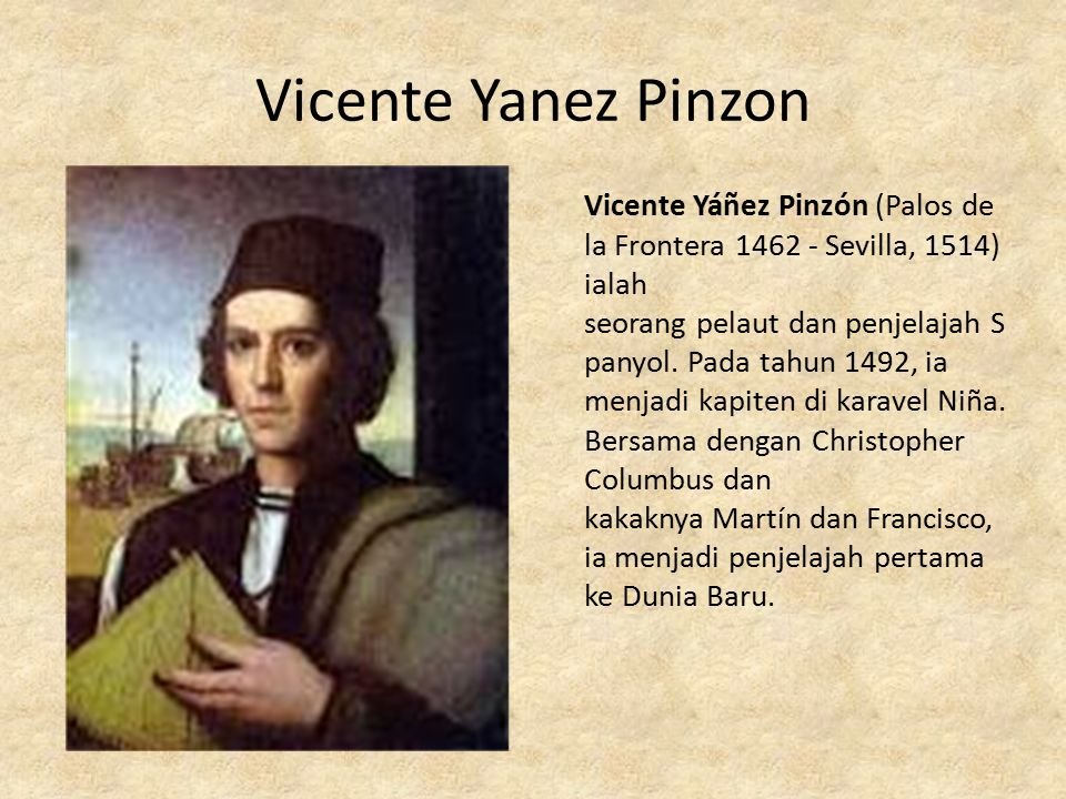 Vicente Yanez Pinzon