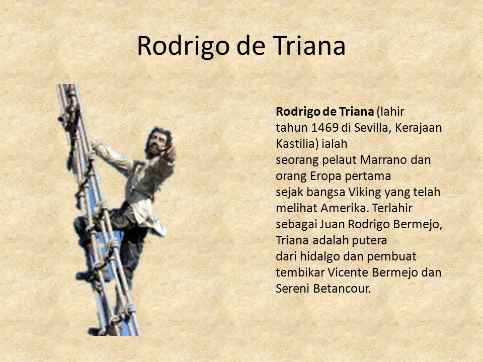 Rodrigo de Triana