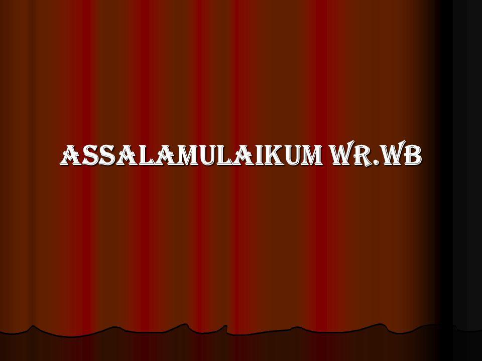 Assalamulaikum Wr.Wb