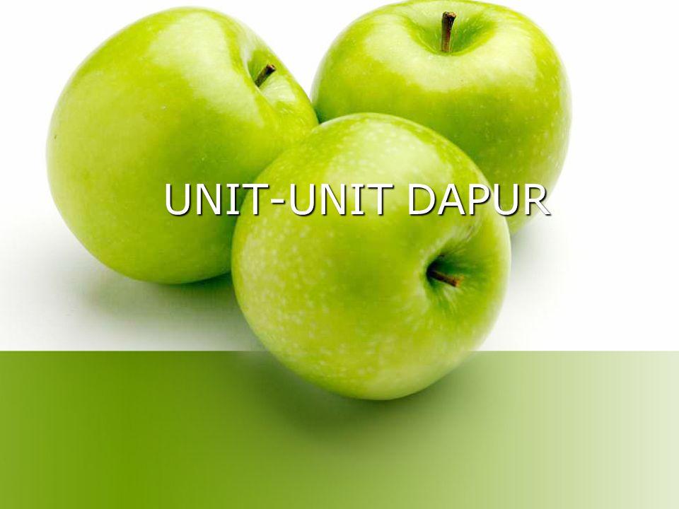 UNIT-UNIT DAPUR