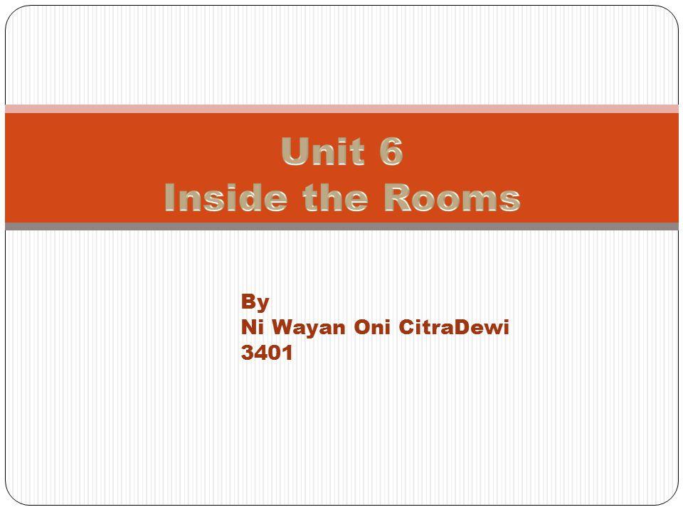 By Ni Wayan Oni CitraDewi 3401