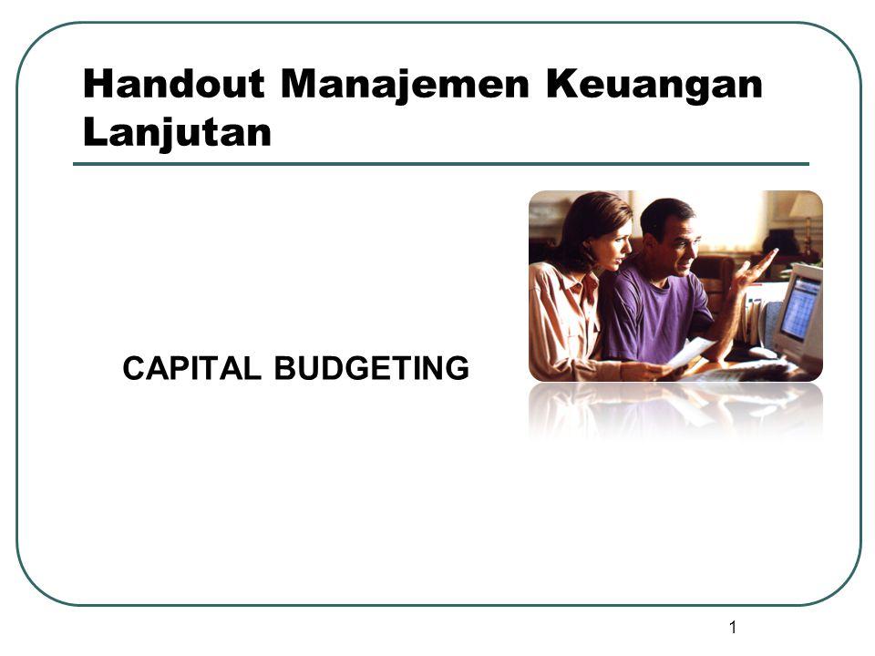 Handout Manajemen Keuangan Lanjutan