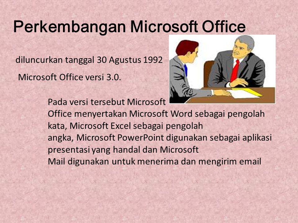 Perkembangan Microsoft Office