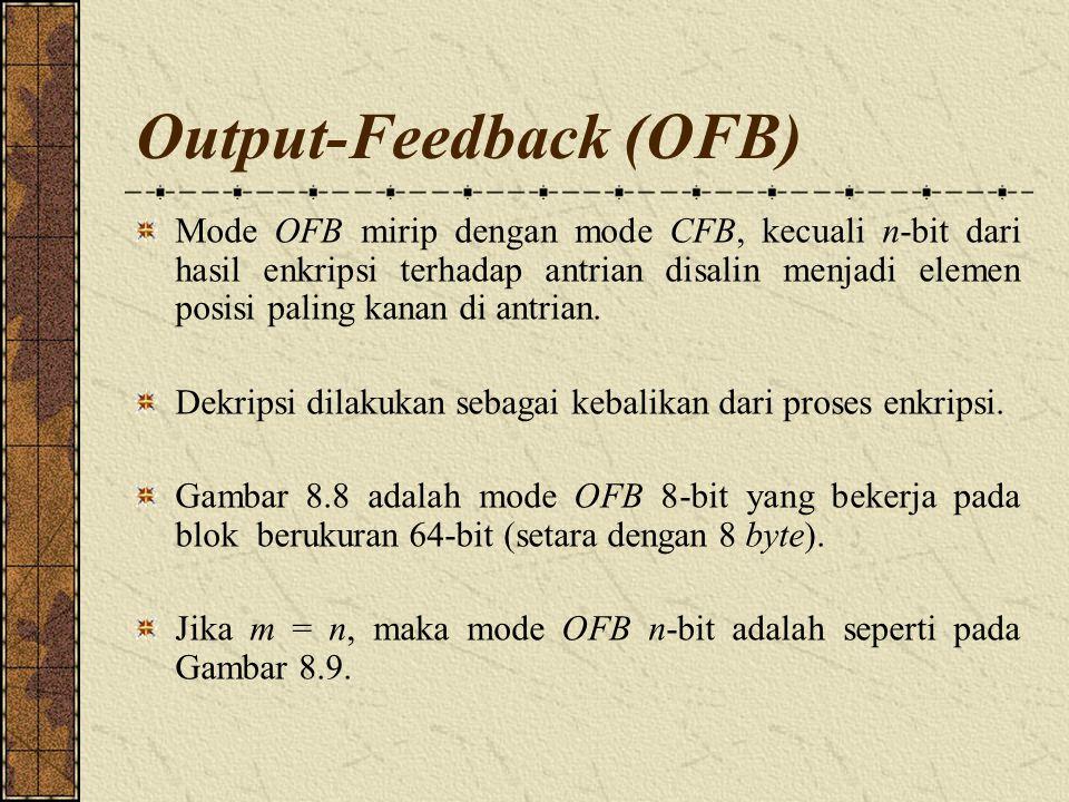 Output-Feedback (OFB)