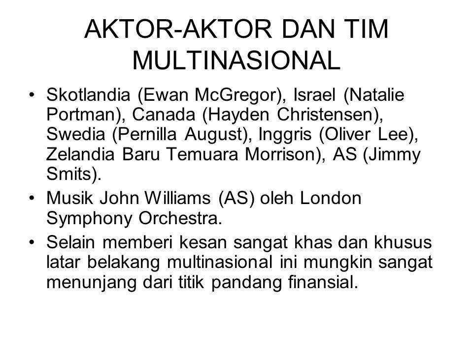 AKTOR-AKTOR DAN TIM MULTINASIONAL