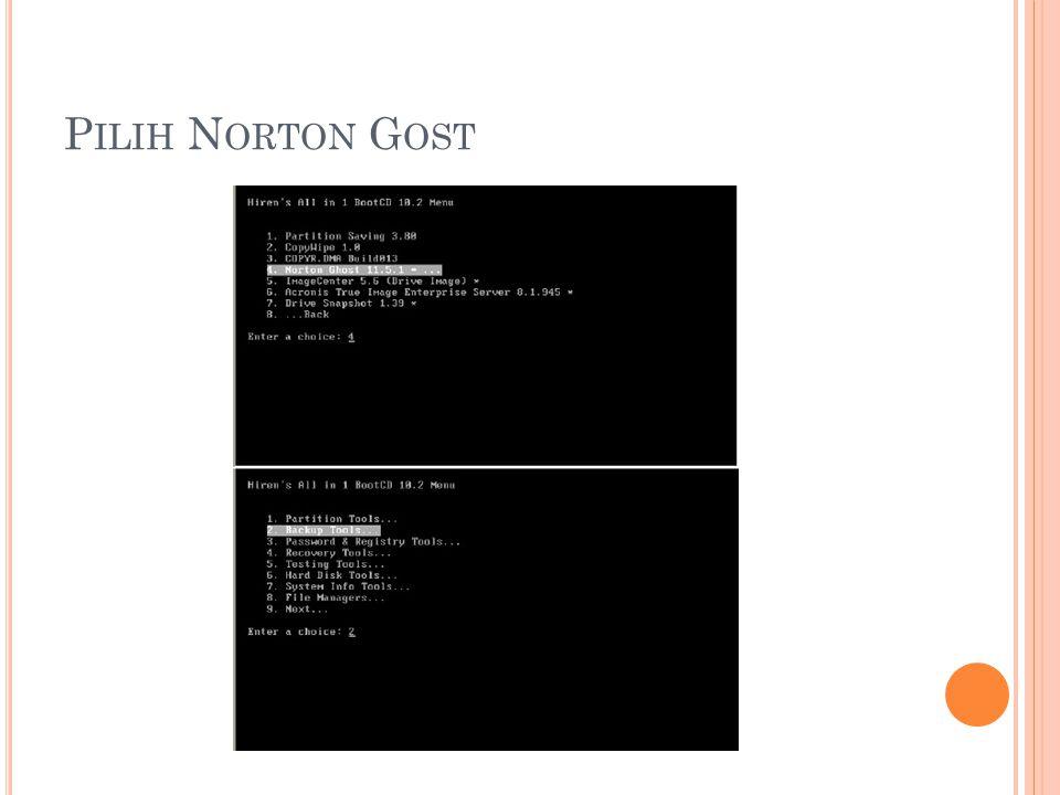 Pilih Norton Gost
