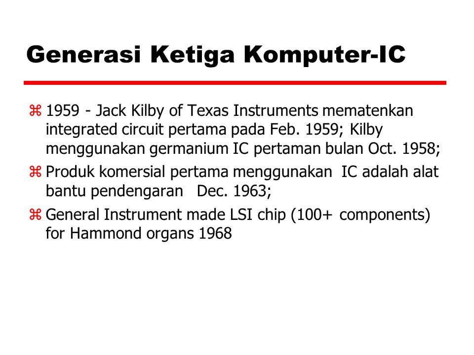 Generasi Ketiga Komputer-IC